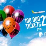 Распродажа Air Baltic: 100 тысяч билетов от 20 евро!
