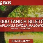 Neobus: билеты по Польше от 1 злотого на майские праздники! — Авиабилеты