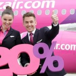 Wizzair: 20% скидки для всех на все рейсы! Акция 13-15 января! —